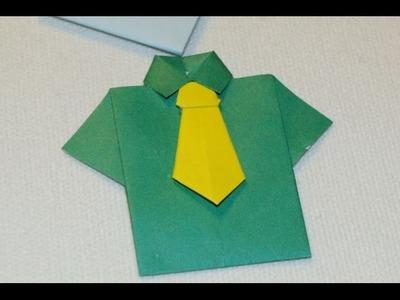 Jak zrobić Koszulę Origami. How to make an Origami Shirt
