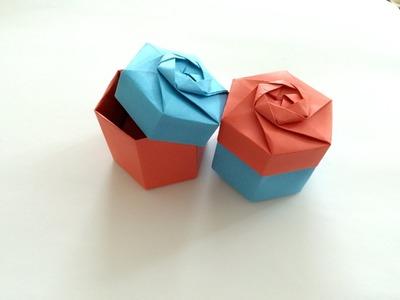 Jak zrobić pudełko na prezent z papieru po polsku krok po kroku