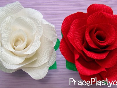 Jak zrobić różę z krepiny?