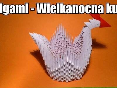 Origami - Wielkanocna kura