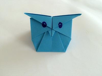 Sowa z papieru origami - jak zrobić krok po kroku po polsku