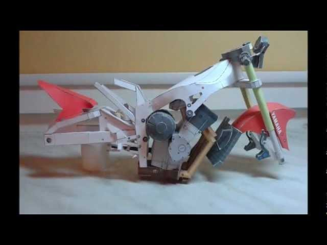 Yamaha YZF-R1 Papercraft