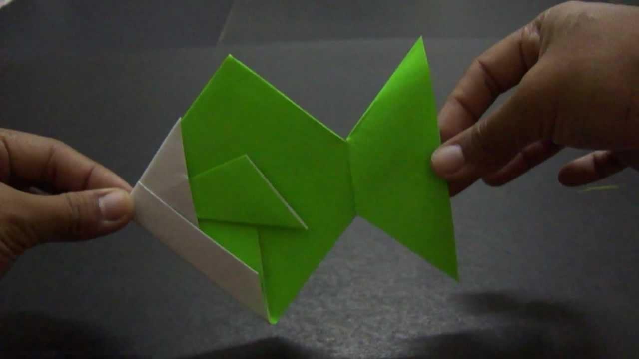 Tutorial Origami Ikan by SyazwanieSuhaimi