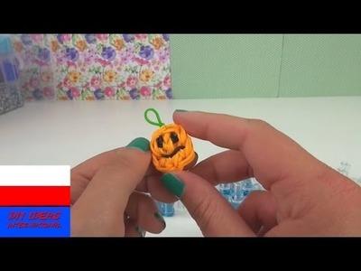 DIY: Dynia z gumeczek Loom band przywieszka do kluczy lub bransoletki