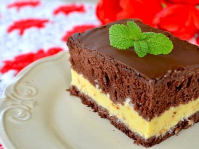 Ciasto Kinder Bueno - Jak zrobić - [Smakowite Dania]