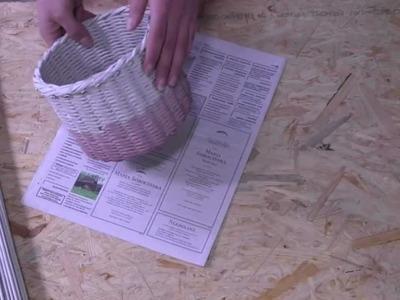 Papierowa wiklina - jakiego papieru używać do wyplatania