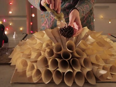 Film instruktażowy jak zrobić stroik świąteczny i choinkę