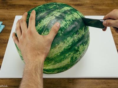 Jak pokroić i podawać arbuza w fajny sposób