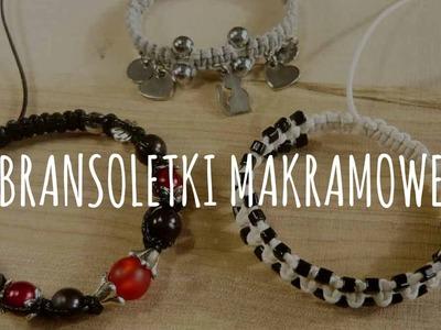 Jak zrobić bransoletki makramowe? - [#3] Kurs tworzenia biżuterii od podstaw | Qrkoko.pl