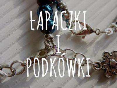 Jak zrobić zapięcia? Łapaczki i podkówki - [#2] Kurs tworzenia biżuterii od podstaw | Qrkoko.pl