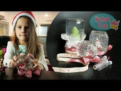 Kula śnieżna DIY - świąteczna dekoracja lub pomysł na prezent