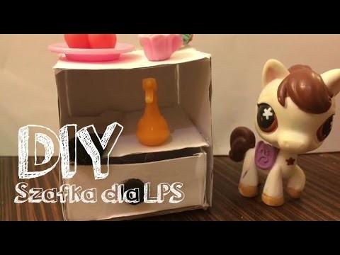 LPS: DIY #2 - Szafka nocna dla Littlest Pet Shop