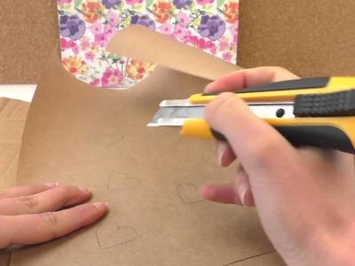 DIY International | wyzwanie #51 pakowanie prezentów | instrukcja DIY