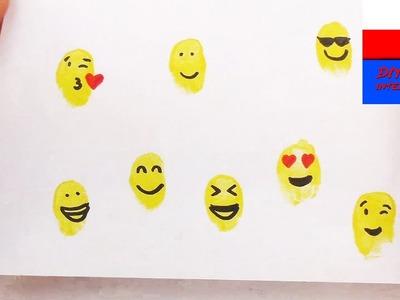 DIY International | kartka z emotikonkami | kartka na Dzień Matki lub Dzień Ojca z uśmieszkami