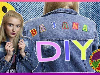 DIY | Kurtka jeansowa z naszywkami | Dajana Twardowska