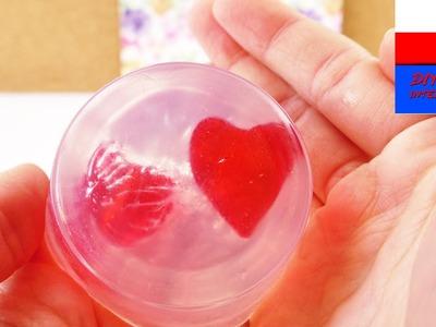 DIY International | mydło z serduszkami | mydło DIY na Dzień Matki albo ale przyjaciółki
