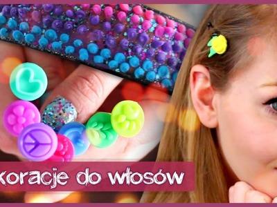 DIY Dekoracje do włosów || Olsikowa