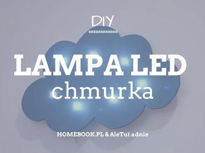 Jak zrobić lampę LED w kształcie chmurki? #LAMPA #LED