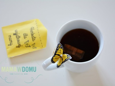 Prezent dla mamy - personalizownana herbata DIY.