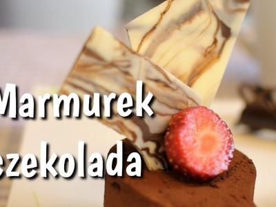 Jak zrobić marmurki z czekolady DIY
