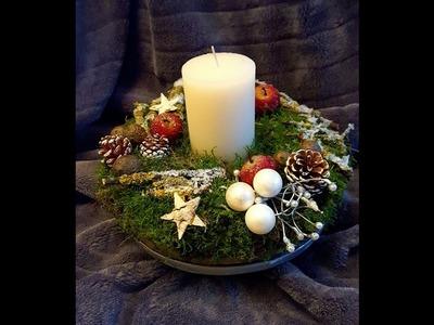 DIY. Jak zrobić stroik świąteczny.