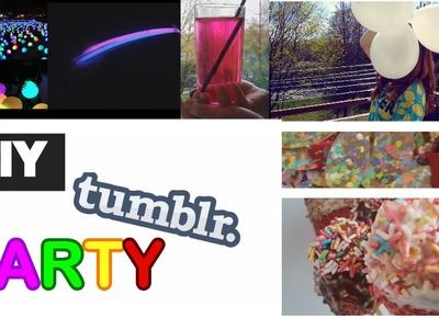 DIY Tumblr Birthday Party! ♡ Snacks, Drinks & More