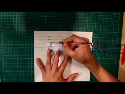 [DIY] Jak zrobić kokardkę z papieru - tutorial :) scrapbooking
