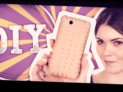 DIY ♥ ETUI herbatnikowe (Phone Case)