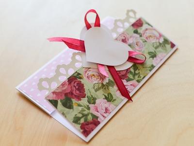 How to Make - Greeting Card Wedding Marriage Heart Birthday - Step by Step | Kartka Okolicznościowa