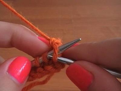 No 5# zakańczanie robótki na drutach - 2 sposób- How to Knit - Absolute Beginner Knitting