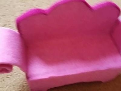Diy kanapa dla lalek #2