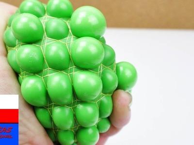Piłeczka antystresowa | Squishy Mesh Ball z gluta i balona