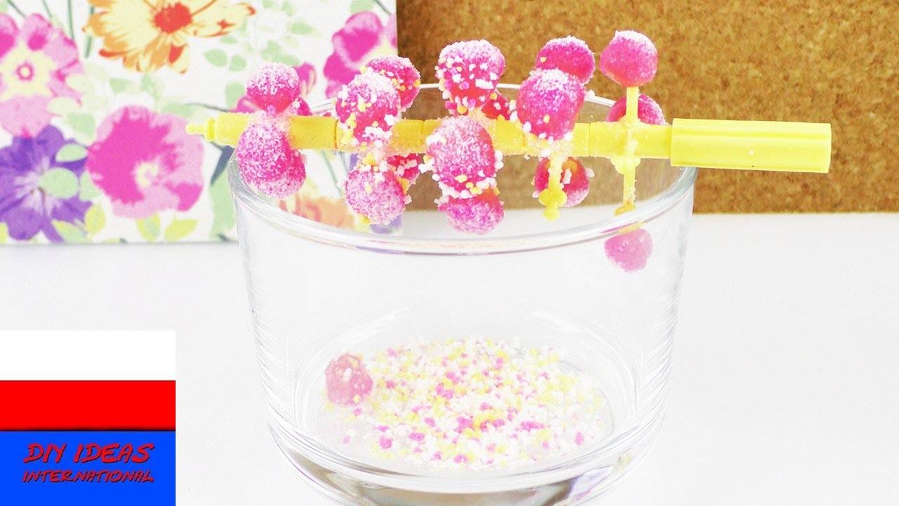 Popin' Cookin' DIY   test   zestaw słodyczy z Japonii, Candy Tree Set