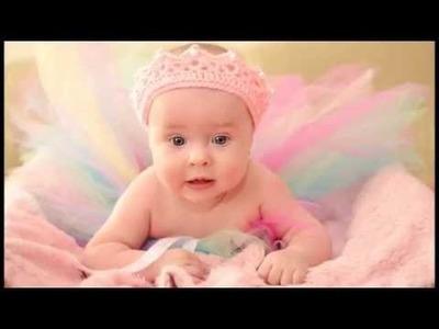 No 48# korona na szydełku dla dziewczynki - Crown for girl on crochet