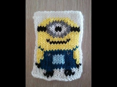 No 11# Minionek na drutach część 1-2 - Minion on knitting PART 1-2