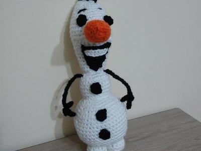 No 50# Olaf na szydełku część 2-2 - olaf on crochet PART 2-2