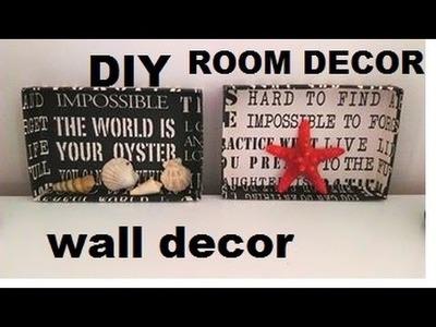DIY jak zrobić dekoracje na ściane ,wall  decor Easy & Affordable