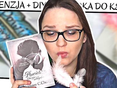 Powietrze, którym oddycha. Brittany C. Cherry | DIY: Zakładka do książki + RECENZJA
