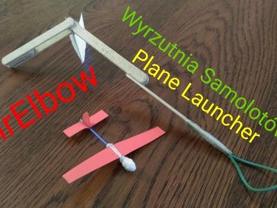 !HD! !DIY! Jak zrobić wyrzutnie samolotów. How to make plane launcher _)MrElbow(_ Tutorial.