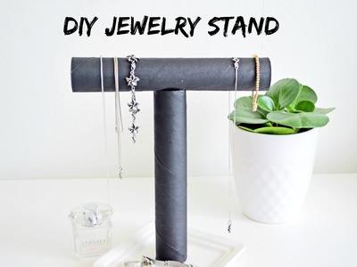 Jak zrobić stojak na biużuterię DIY Jewelry Stand | Cleo-inspire