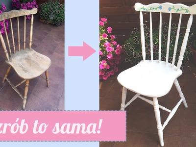 Metamorfoza 6 - czyli jak odmienić krzesło retro (DIY) - SecondLife
