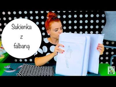 Zrób to Sam - Sukienka z falbaną a'la hiszpanka - szyciowy tutorial