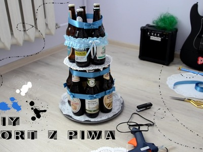DIY - Tort z piwa