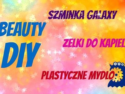 DIY Kosmetyki | Beauty | Szminka Galaxy | Mydło plastyczne | Żelki do kąpieli | Mów mi DIY
