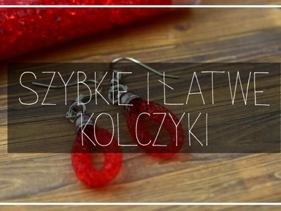 DIY - KOLCZYKI Z SIATKI JUBILERSKEJ. SZYBKO I ŁATWO | MBBEADS.PL