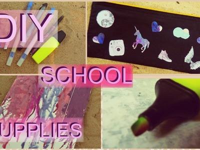 DIY School Supllies for Back to School | DIY Przybory szkolne