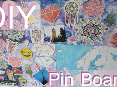 DIY Room Decor Pin Board | Dekoracyjna Tablica Korkowa