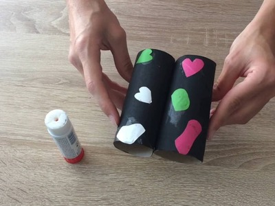 DIY How to make a Binoculars from toilet rollsIJak zrobić lornetkę z rolek