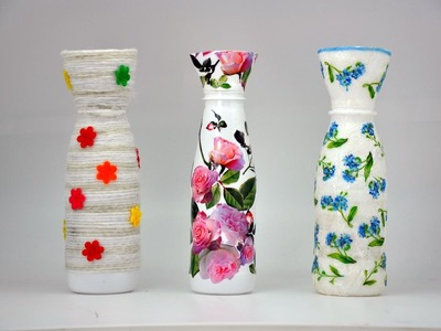Wazon z plastikowej butelki # Recycled DIY # Vase with a plastic bottle