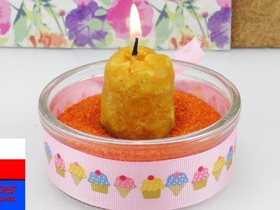DIY Inspiration wyzwanie #76 | DIY świeczki | świeczka z pszczelego wosku